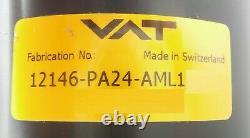 VAT 12146-PA24-AML1 Pneumatic Gate Valve ISO200 Series 121 Working Surplus