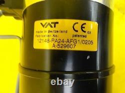 VAT 12148-PA24-AFG1 Pneumatic Gate Valve Used Working