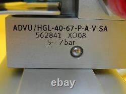 VAT B90002011 Pneumatic Gate Valve BGV LOTO Edwards Copper Exposed Used Working