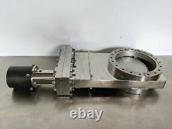 Vacuum Gate Valve // Pneumatic // 8 inch CF / Varian ConFlat // VAT // MDC