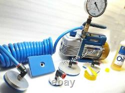 Valve Seat Cylinder Head Vacuum Tester 5 Different shapes Pads Coil Hose -30