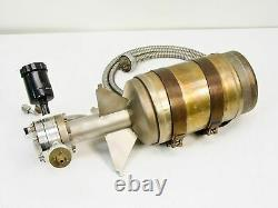 Varian 0531 951-5096 Sorption Pump with Air Valve TC Vacuum Gauge and Fittings