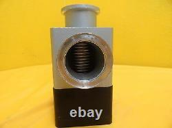 Varian 1200-MSP-A1355 Pneumatic Angle Valve NW40 A/O Used Working