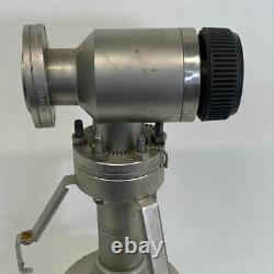 Varian 941-6501 Vacuum Pump With Manual Valve 951-5091