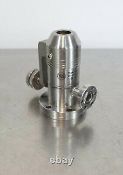 Varian 951-5106 Variable Vacuum Leak Valve // 1.33 inch CF Gas Inlet / 2.75 CF