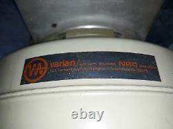 Varian NRC/ Airco Temescal 4 Vacuum Gate Valve Model 5010-R