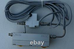 Varian Turbo Pump Purge-Vent Valve 9699134 with Flow Meter Model 9699114