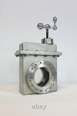 Varian Vacuum Gate Valve / Manual / 6 inch CF / DN100CF / 951-5201 // VAT / MDC