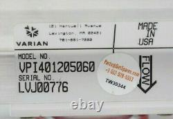 Vpi401205060 / Vacuum Pump Isolation Valve 115v / Varian