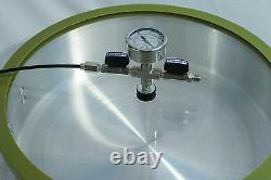 XL Vacuum Chamber Made By H. V. C. S. S. Fittings Valves & Gauge