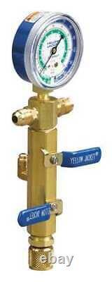 YELLOW JACKET 93853 Vacuum Pumps, 2-Valve